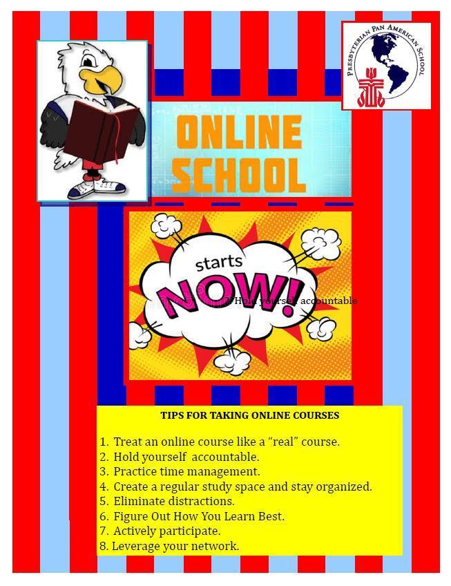 Online School Flyer