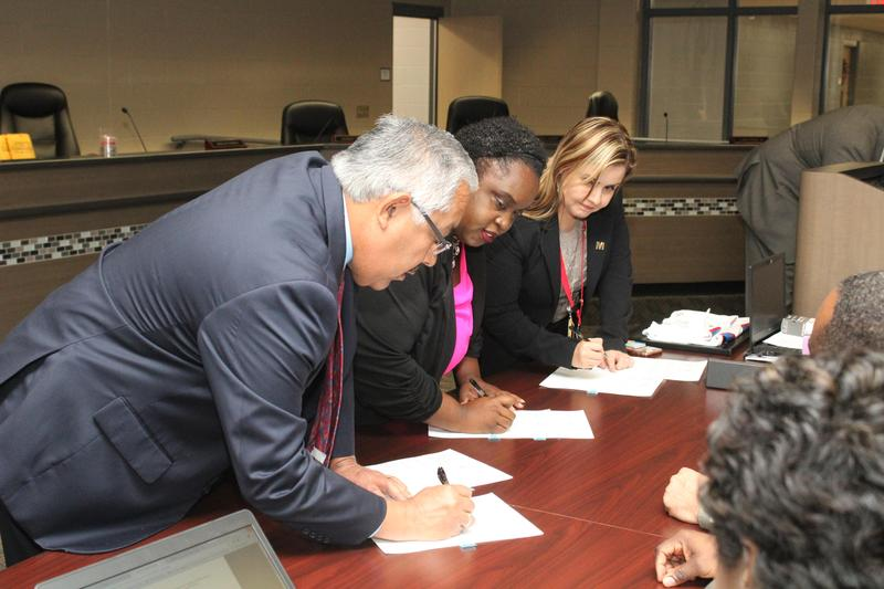 Manor ISD Board of Trustees Elects Officers, Swears In New Members Thumbnail Image