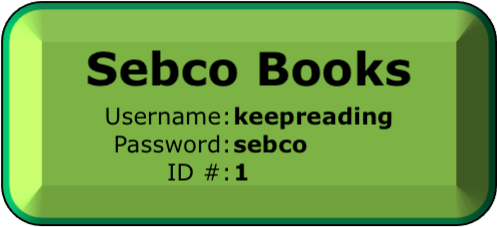 Click to go to Sebco Books online, username keepreading (as one word) password sebco and ID # 1