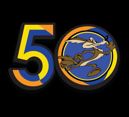 Los Coyotes 50th Anniversary Logo
