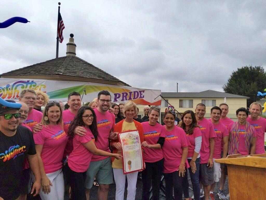 Whittier Pride Group Photo