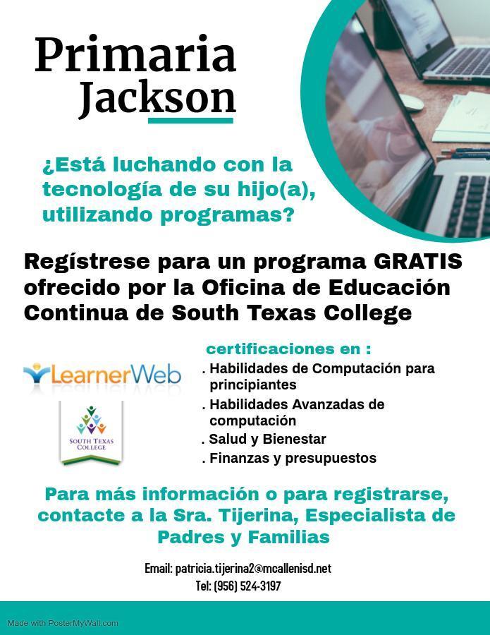 STC Learner Web Span