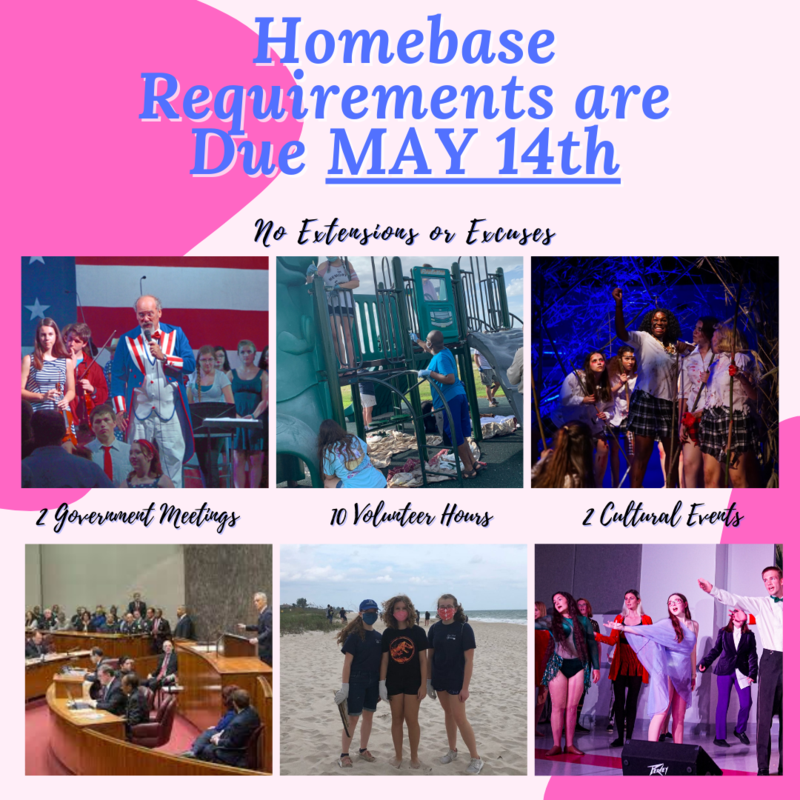 Homebase Requirements Deadline May 14th Featured Photo