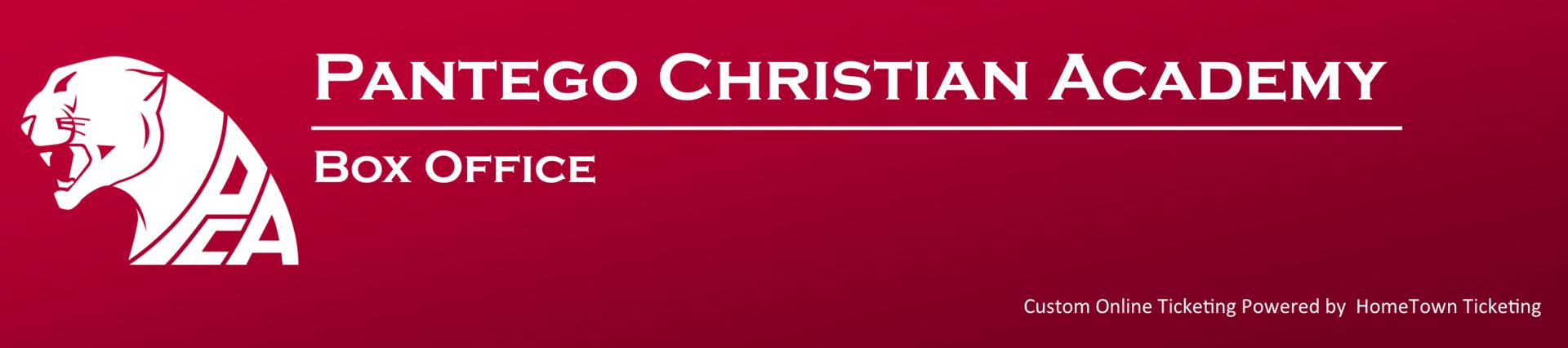 Pantego Christian Academy Box Office