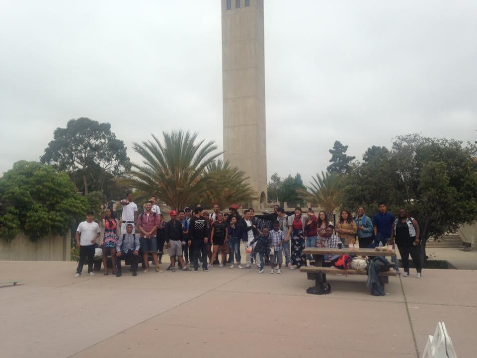 South LA students on a field trip