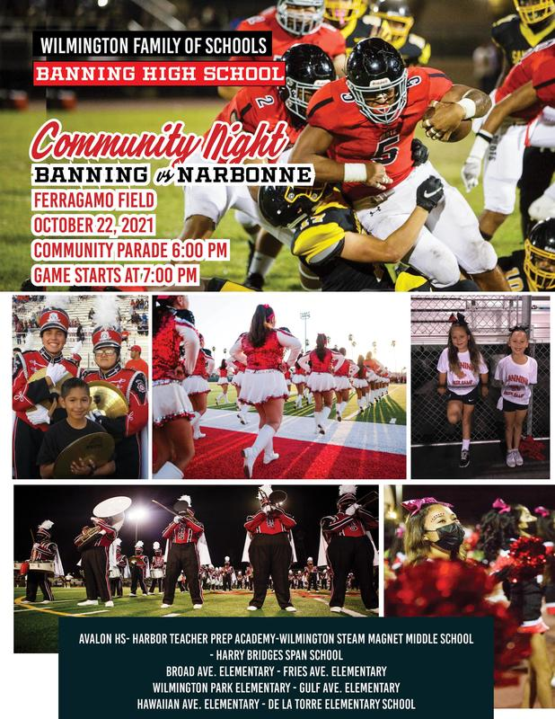 Community Night - Banning vs. Narbonne - Friday, October 22, 2021 Featured Photo