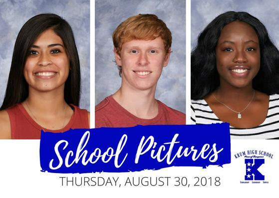 School Pictures - August 30, 2018 Thumbnail Image