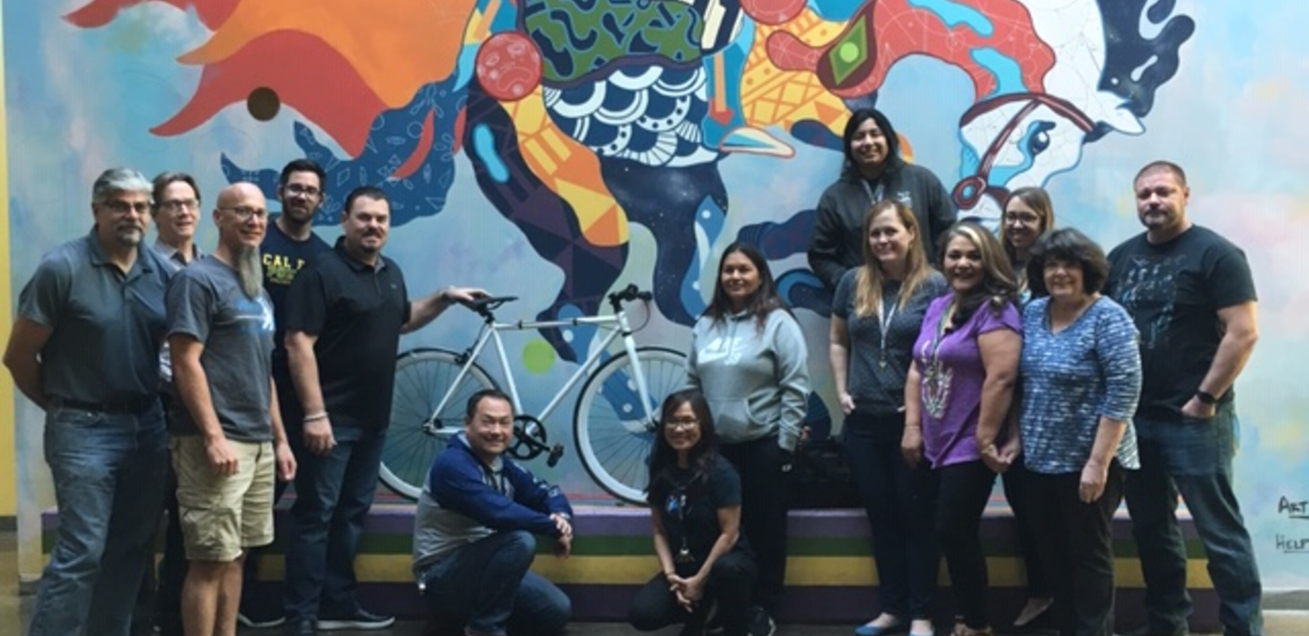 Bobby's Bike Shop is the Best! - Bobby's Bike Shop is located in Pomona and they just donated a bicycle to Village Academy High School. VAHS Staff worked to assemble the bike for one lucky student at the end of the year. #proud2bepusd http://edl.io/n1119306