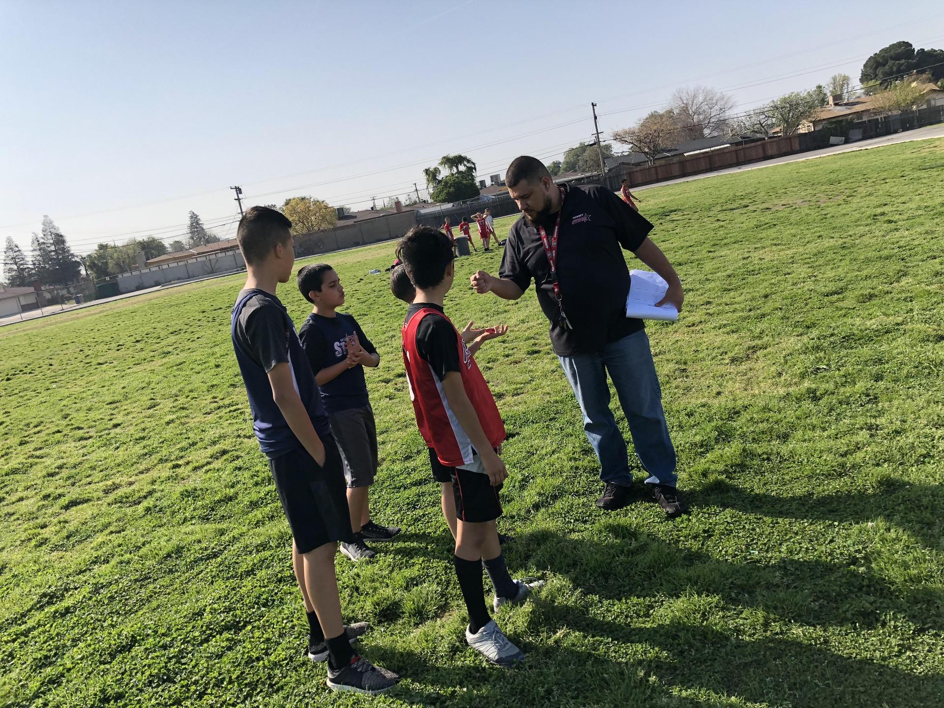 2018-19 Track Coach w/Track Team!