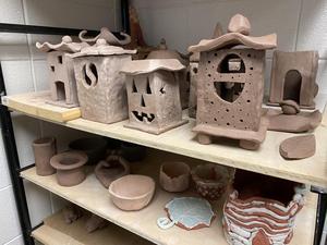 Ceramics projects at CCHS