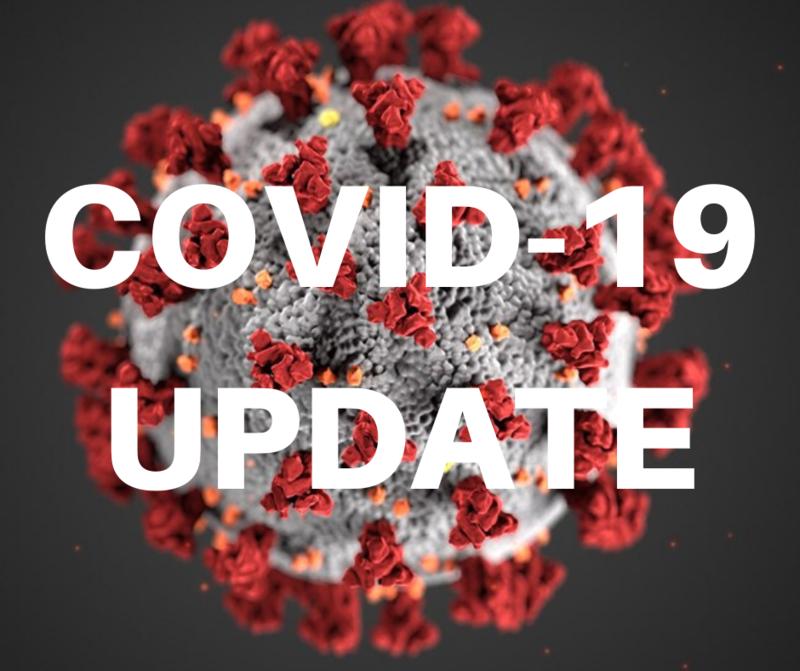COVID 19 update logo