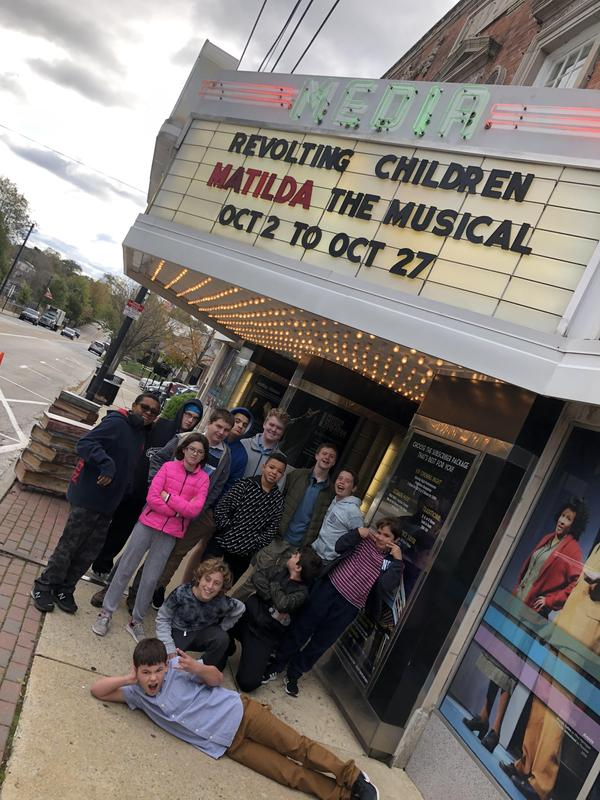 Hill Top Middle School Students visited the Media Theater to see Matilda The Musical! Featured Photo