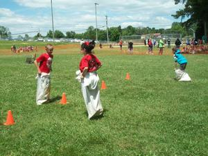 Field Day activities.