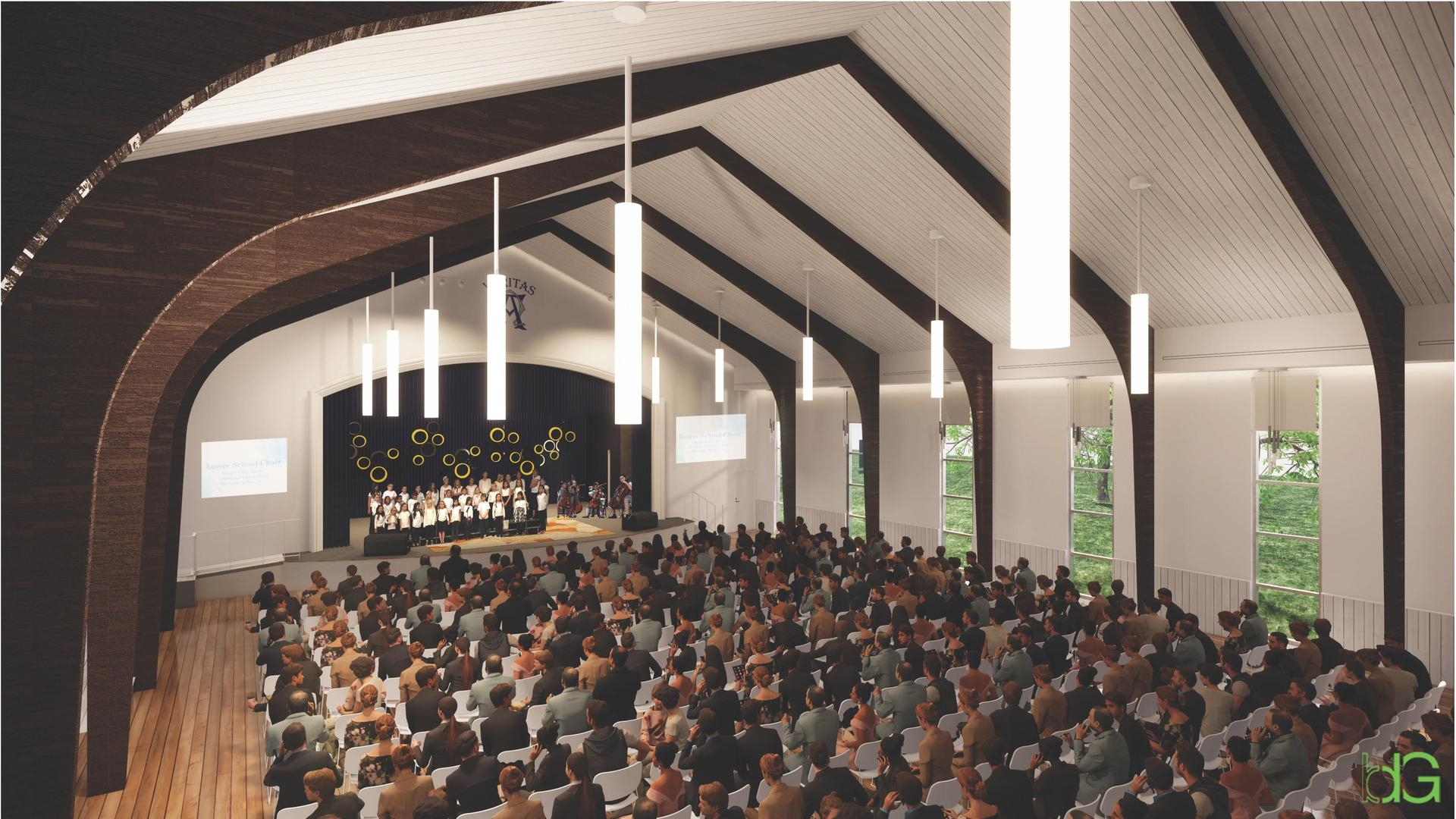 rendering - choir