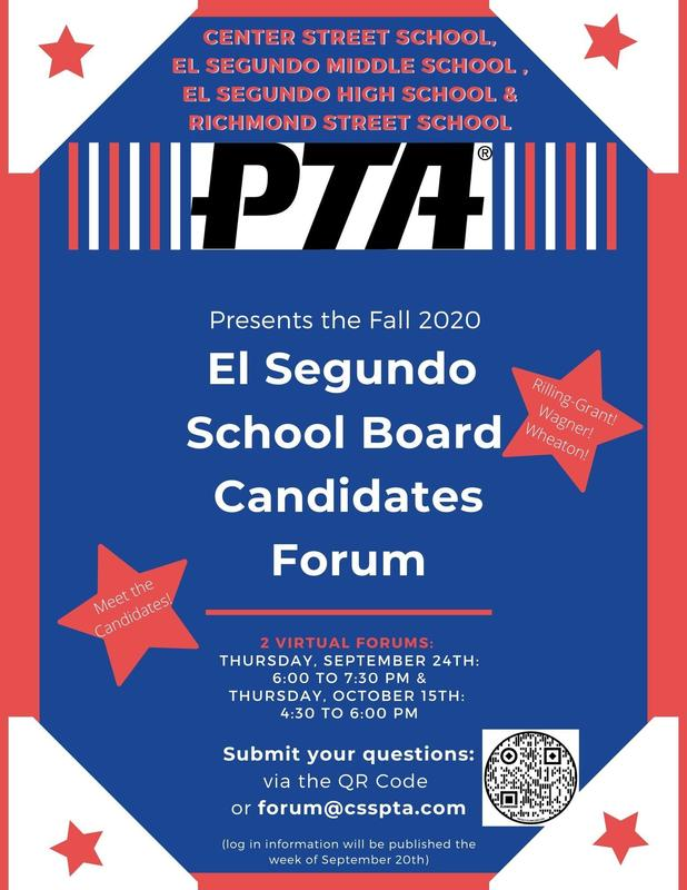 Board of Education Candidate Forums Scheduled for 9/24 and 10/15 Featured Photo