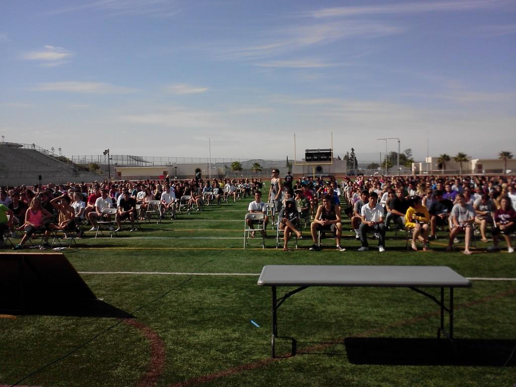 Graduation practice
