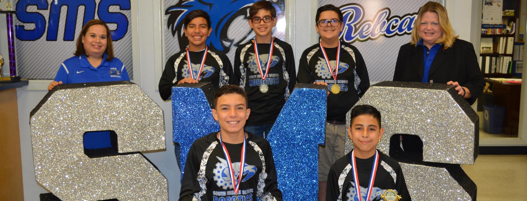 Robotics Teams wins 1st at Hestec