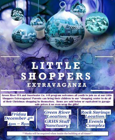 Little Shoppers Extravaganza - December 4th, 4:00 pm - 8:00 pm Featured Photo