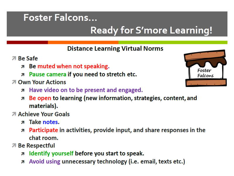 Foster Falcons... Ready for S'More Learning! Featured Photo