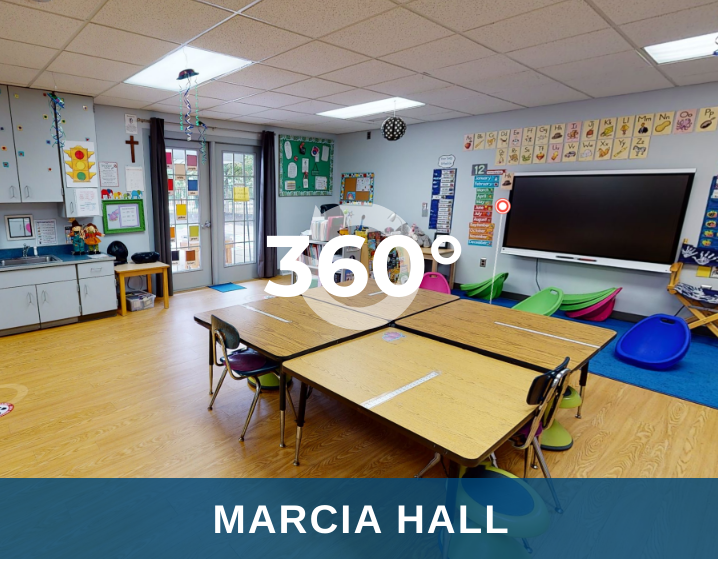 Click here for a virtual tour of Marcia Hall, home to St. Timothy's School's PreK and Kindergarten programs.