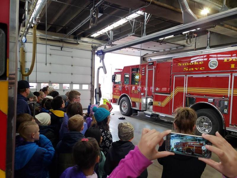 LC 5th grade students enjoyed a day learning about our community! Thumbnail Image