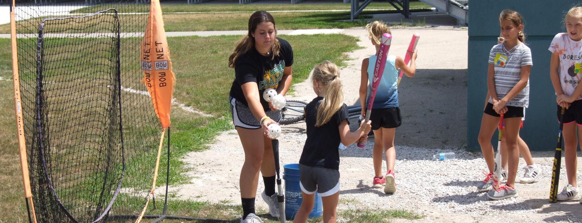 COALER camp softball session