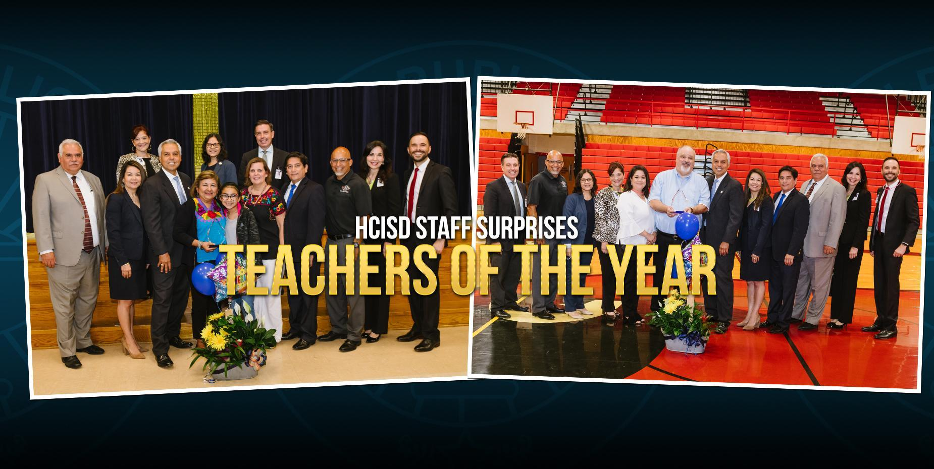 HCISD announces district teachers of the year