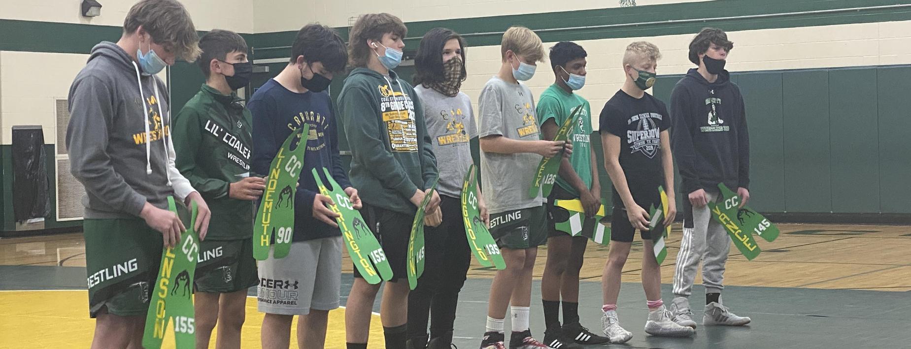 8th Grade Wrestlers