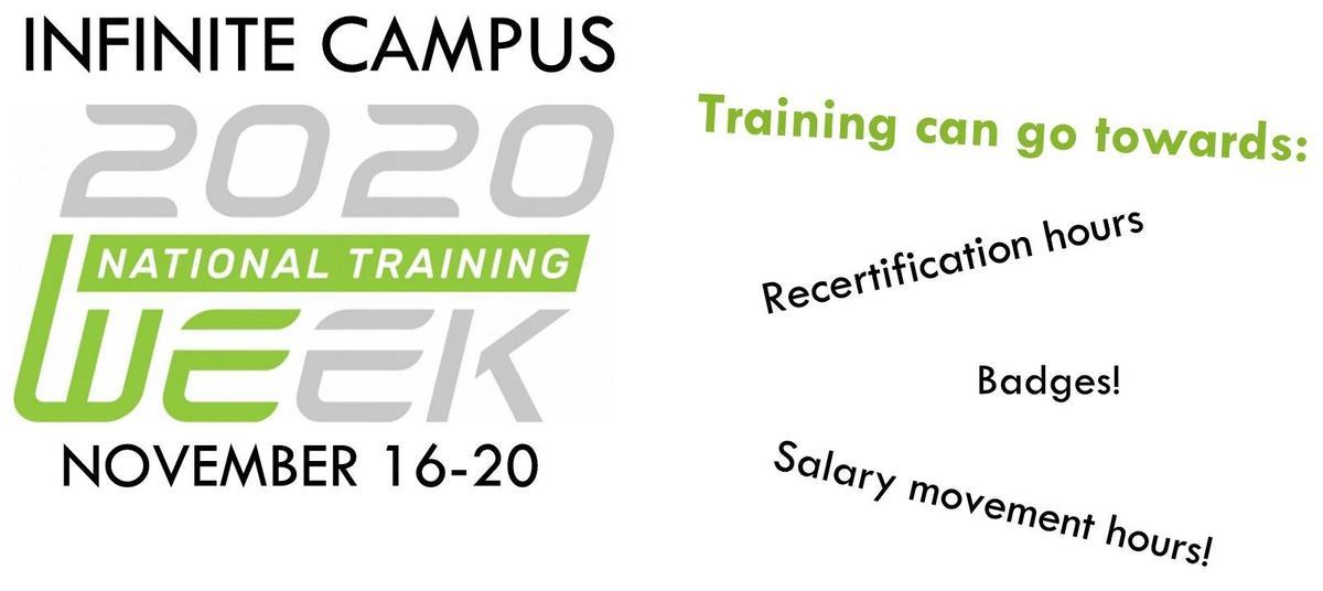 Infinite Campus National Training Week 2020