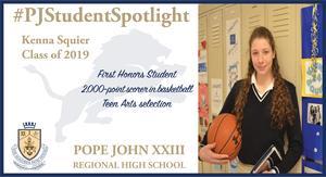 Kenna Squier student spotlight