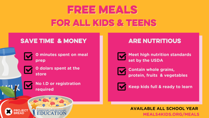 FRCS Students Eat FREE! Grab and Go Meals Available for Pick-up Beginning Next Week Featured Photo