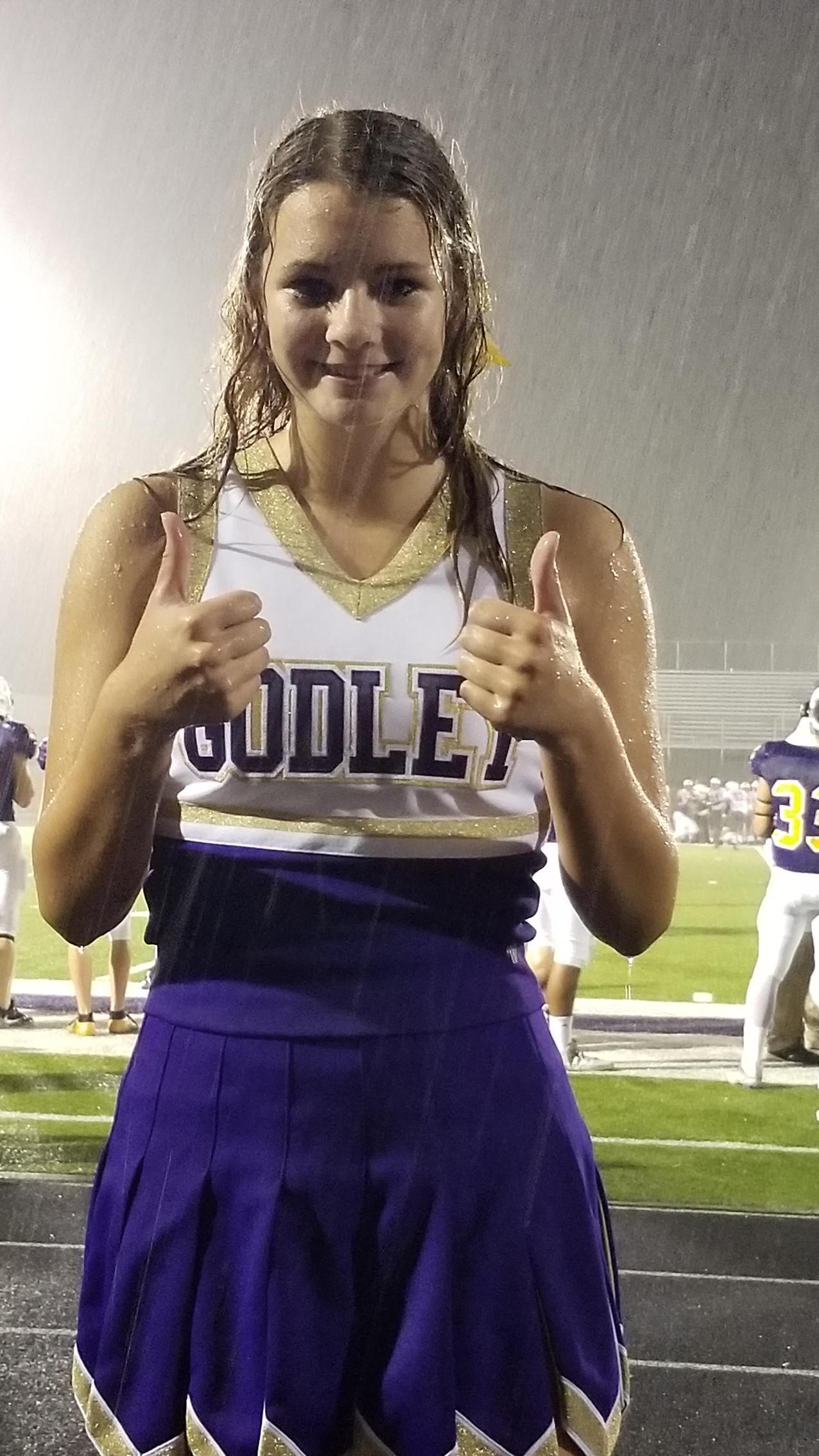 Cheering in the Rain