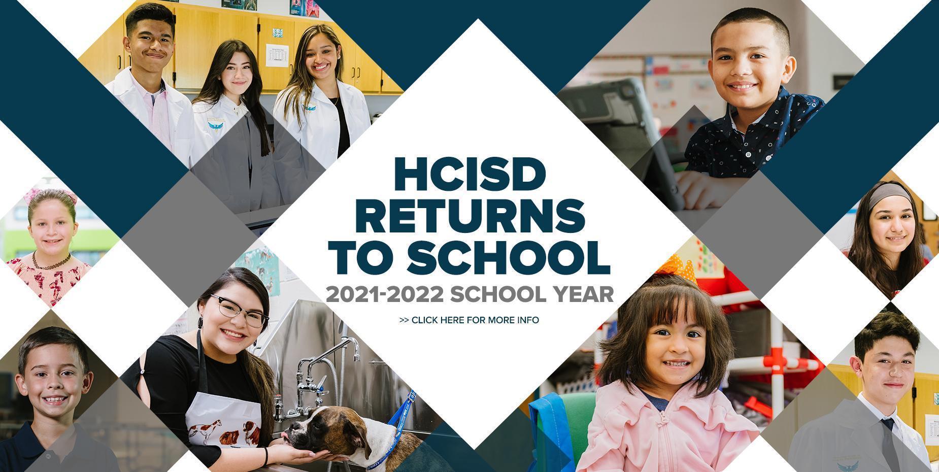 HCISD Returns to School