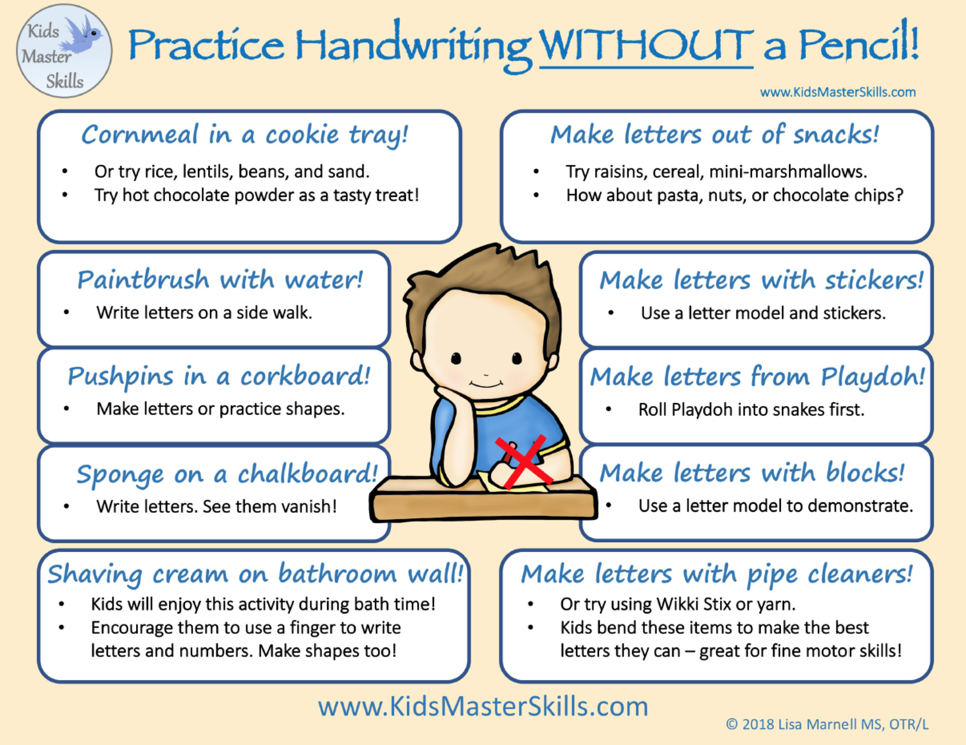 OT Overview writing without Pencils