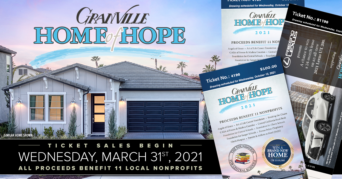 Granville Home of Hope Flyer 2021