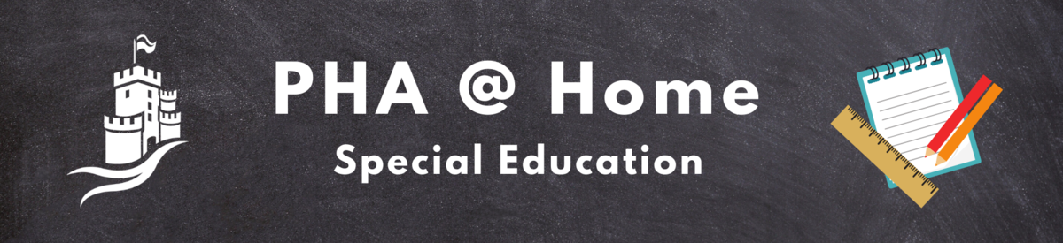 PHA @ Home Special Education