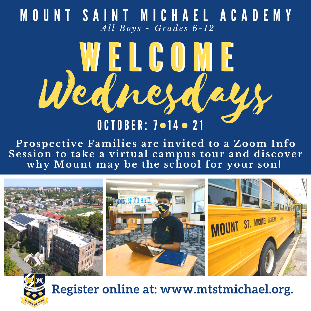 Mount St. Michael Welcome Wednesday