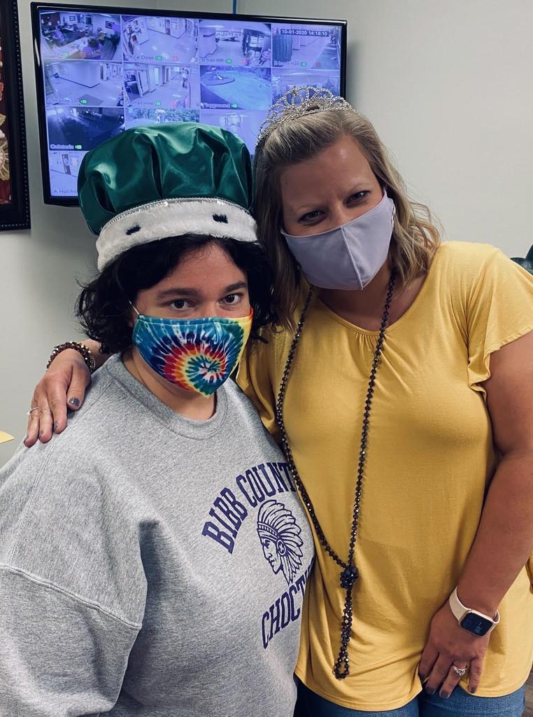 Nurse Kelly and Mrs. Massey