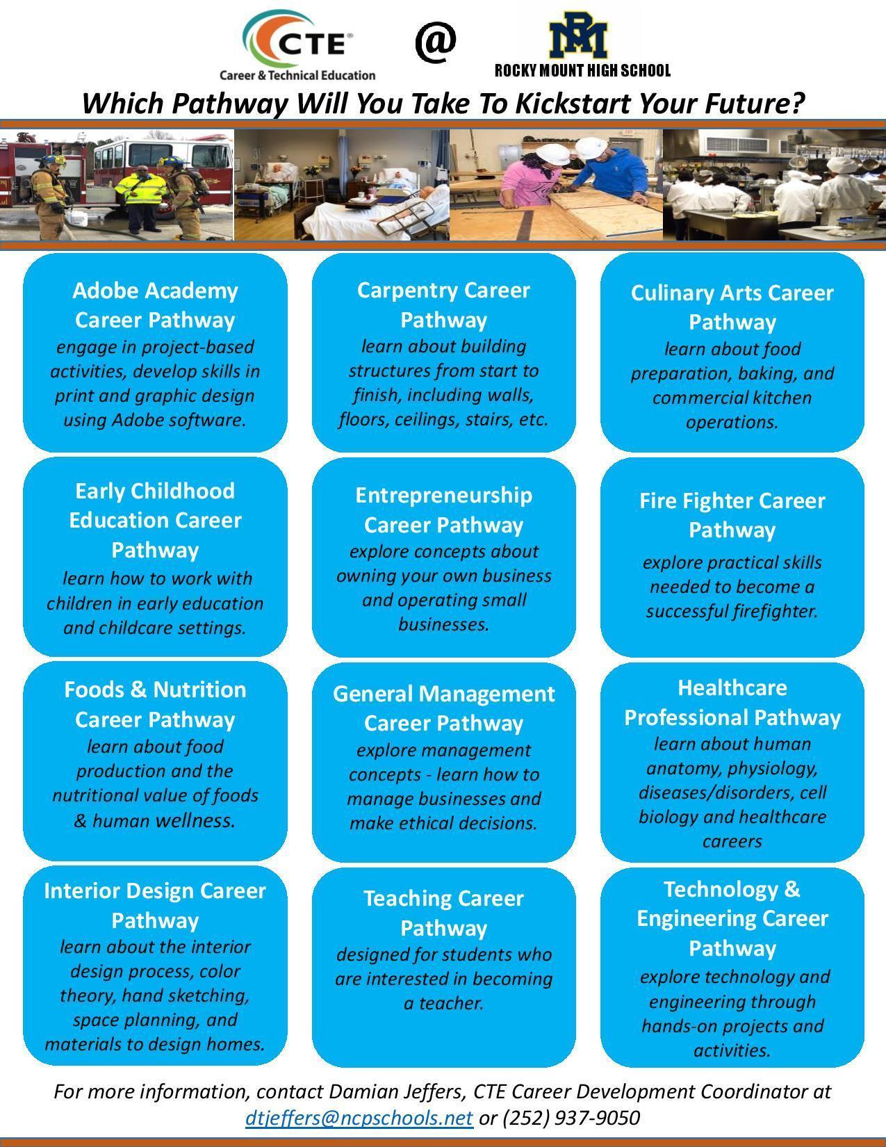 CTE Career Pathways at RMHS