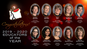 2019-20 Educators of the Year