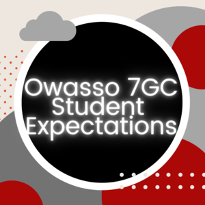 O7GC Student Expectations