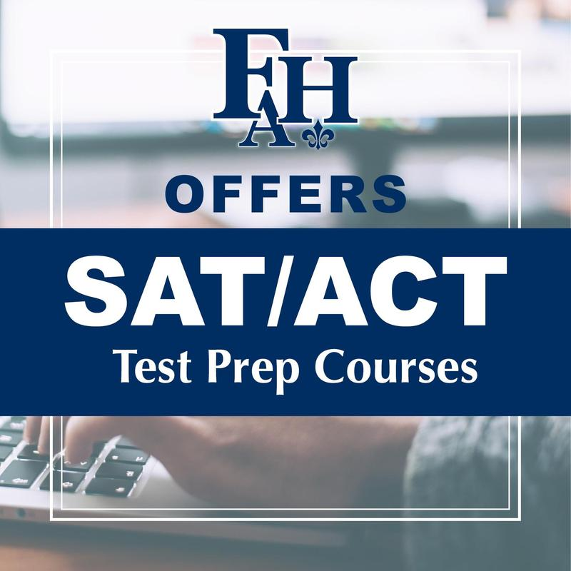 SAT/ACT Test Prep Courses at FHA Thumbnail Image
