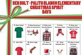 Elementary December Dress-up Days Featured Photo