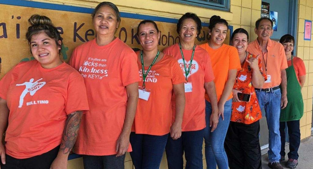 Unity Day Picture, Cafeteria staff