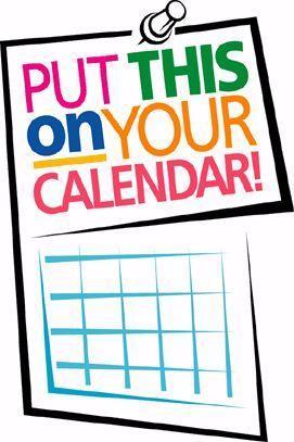 put on your calendar