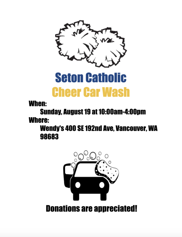 Seton Catholic Cheer Carwash Featured Photo