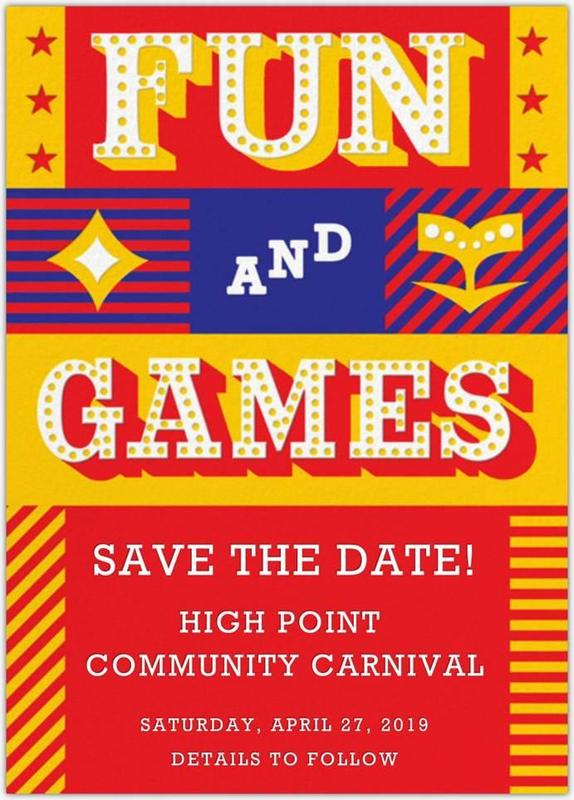HPA Community Carnival - April 27 - SIGN UP TO VOLUNTEER Featured Photo
