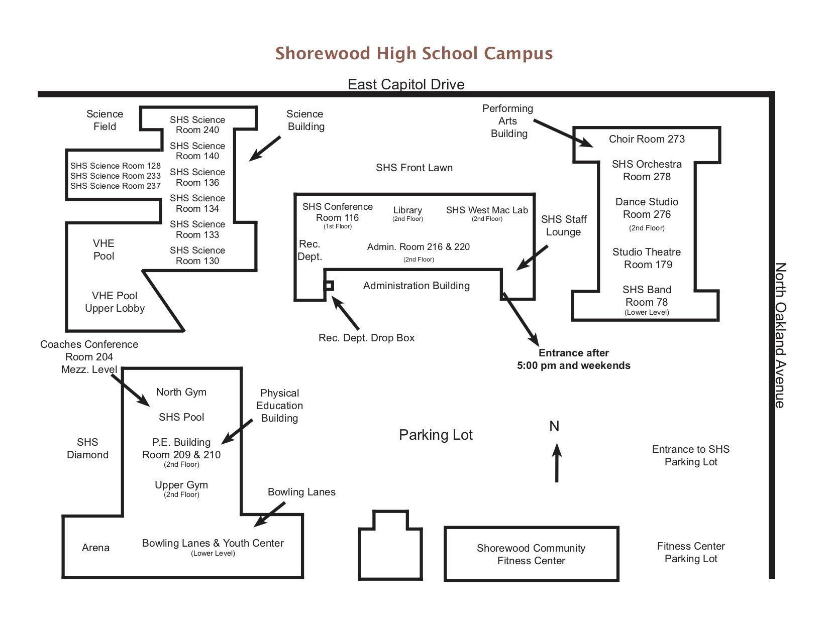 SHS Map