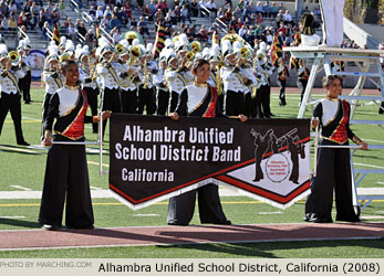 AUSD Rose Parade Band 2008 Thumbnail Picture