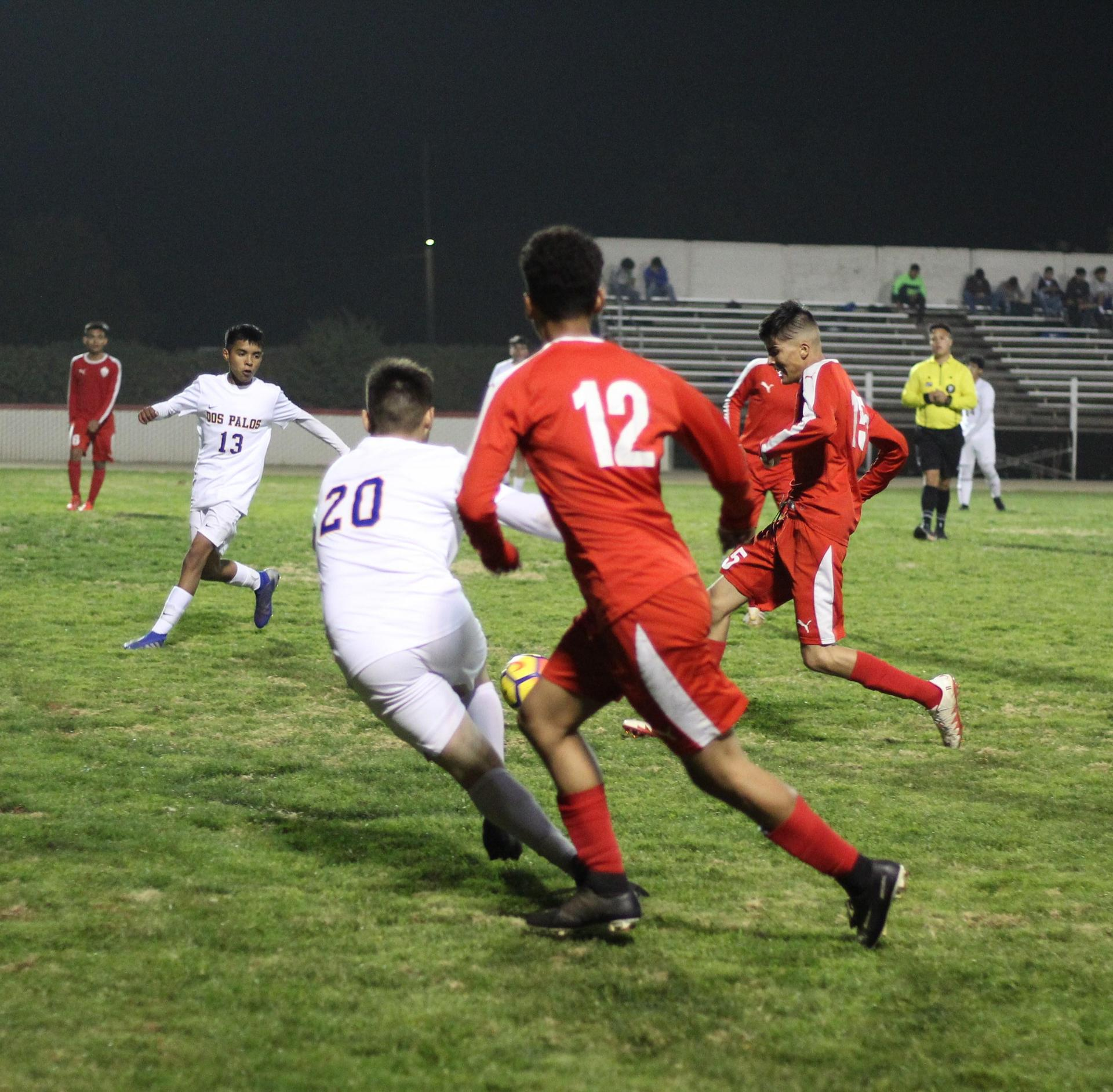 Chowchilla Players going for the ball